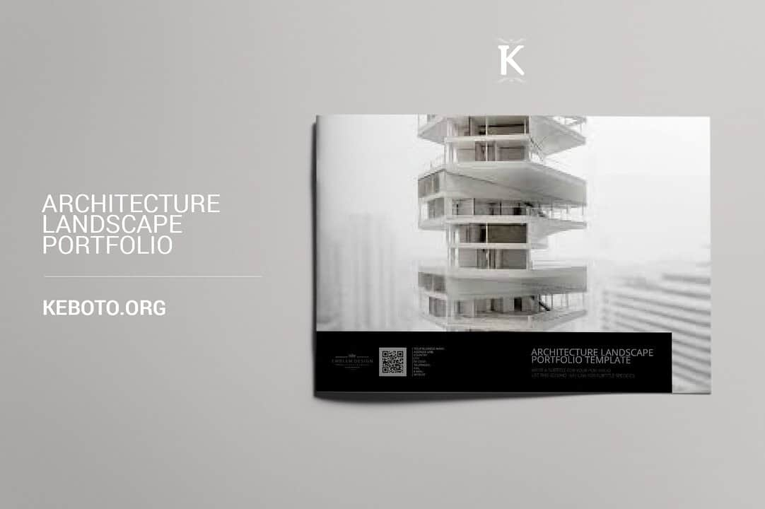 best architect portfolio template
