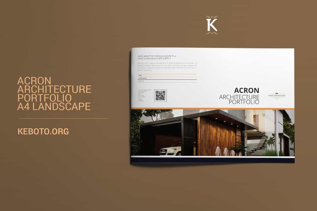 creative architect portolio template
